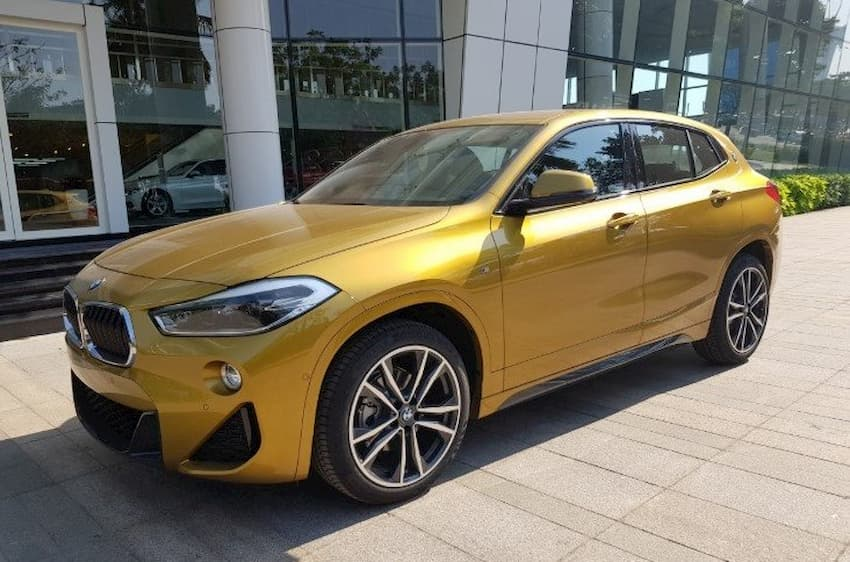 Than xe BMW X2 sDrive18i 2019